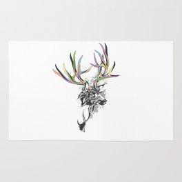 White-Tailed Deer Rug
