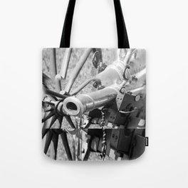 The cannon (black & white version) Tote Bag