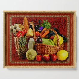 Grocery Day Serving Tray
