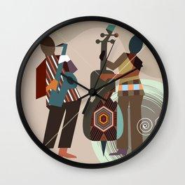 Jazz Quintet II Wall Clock