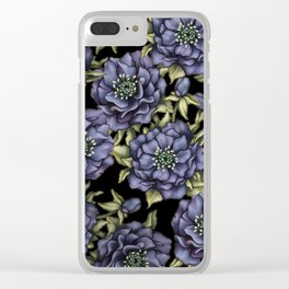 Roses in the Dark Clear iPhone Case