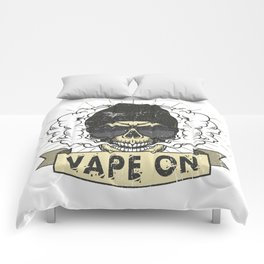 Cloud Chaser - Vaping Hipster - Vape On Swag Comforters