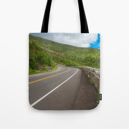 Whiteface Mountain Road Tote Bag