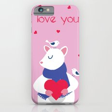 Valentine's Day Love Slim Case iPhone 6s