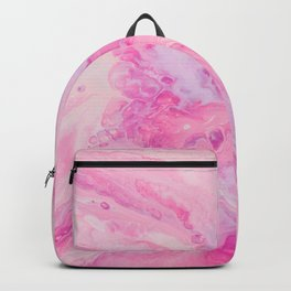 Pretty Pink Watercolor Backpack