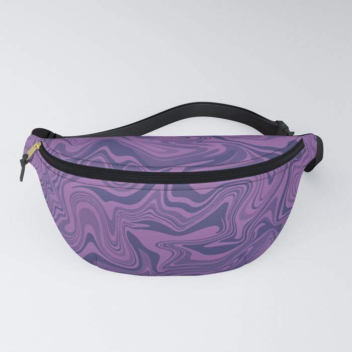 Two-toned purple Agate Fanny Pack