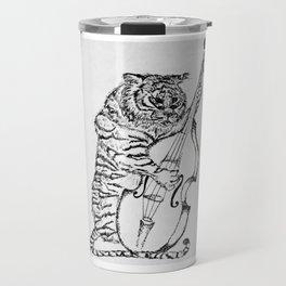 Tiger and Bass Travel Mug