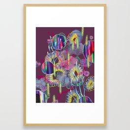 Alien Organism 27 Framed Art Print