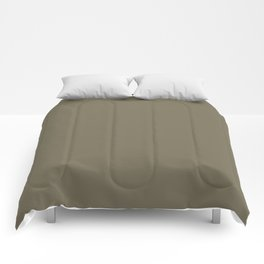 Martini Olive | Pantone Fashion Color | Fall : Winter 2018 | New York and London | Solid Color Comforters