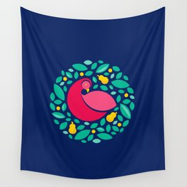 Partridge in a Pear Tree Wall Tapestry