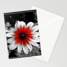 Red Stroke Gaillardia Flower | Nadia Bonello Stationery Cards