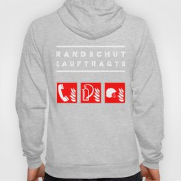 Fire Protection Fire Safety Officer Security bachelor master gift Hoody