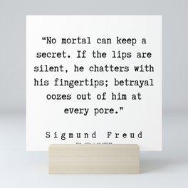 5  |   Sigmund Freud Quotes | 190926 Mini Art Print