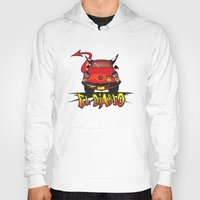 diablo Hoodies featuring El Diablo/hell car by mangulica illustrations