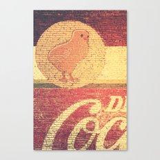 Chicks & Coke Canvas Print