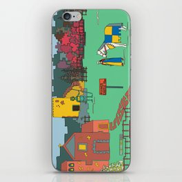 Afternoon at the Medieval Age iPhone Skin