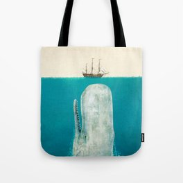 The Whale - option Tote Bag