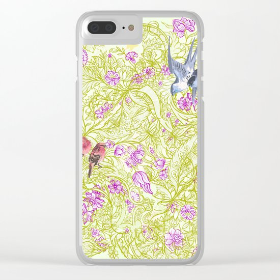 Viva Sweet Love Clear iPhone Case