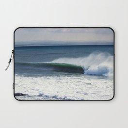 Jeffreys Bay wave at Super Tubes Laptop Sleeve