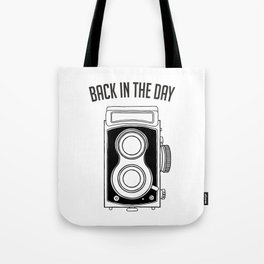 Back in the Day Old Camera Tote Bag