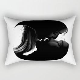 third kiss Rectangular Pillow