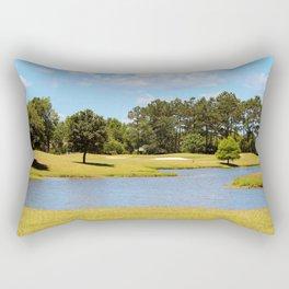 Golf Course Beauty Rectangular Pillow