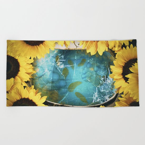 Consumed Beach Towel