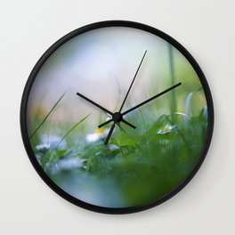 the lucky one Wall Clock