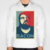 bacon Hoodies featuring BACON by MezmoreyezGaming