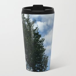 clouds & tattered patriotism Travel Mug