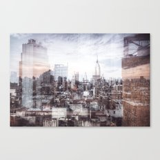 A Layered Empire Canvas Print