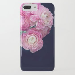 pink on black iPhone Case