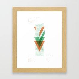 3Lives - Air Framed Art Print