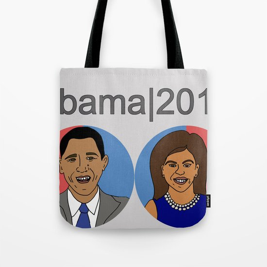 Obama, 2012 Tote Bag