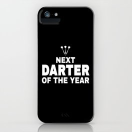 Darts Player Gift Next Darter Of The Year iPhone Case