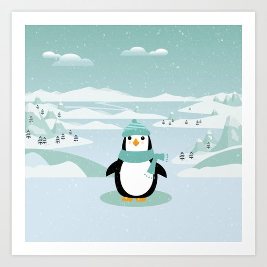AFE Winter Penguin by afeimages