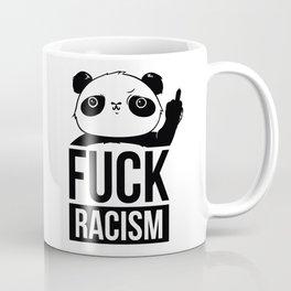 Fuck Racism Panda bear Coffee Mug