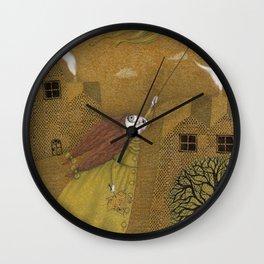 Autumn Kite Wall Clock