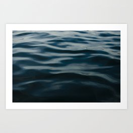 Painted by the Sea V Art Print