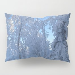 Frosty Forest Pillow Sham