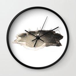 Alcazaba Fountain Wall Clock