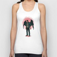 dean winchester Tank Tops featuring Dean Winchester. Demon by Armellin