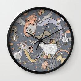 modern farmhouse style accessories, stuff you need! Wall Clock