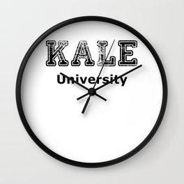 Kale University Wall Clock