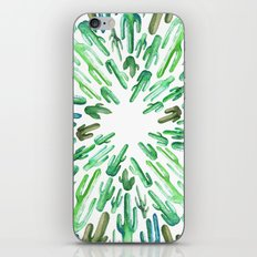 cactus invasion iPhone & iPod Skin