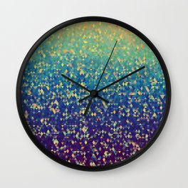 Gleaming Rainbow 1 Wall Clock