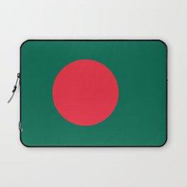 Flag of Bangladesh, High Quality Image Laptop Sleeve