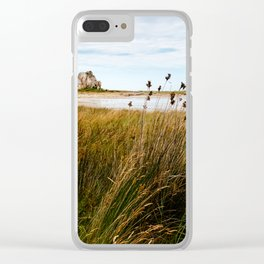 House between rocks in Brittany, Castel Meur III Clear iPhone Case