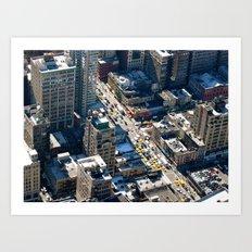 New York Life Art Print