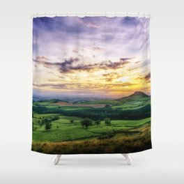 Captain Cook Country Shower Curtain
